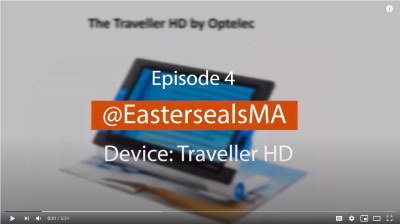 Screen shot of Episode 4 @EastersealsMA Device: Traveller HD
